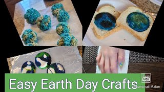 DIY Earth Day Crafts For Kids #earthday🌏 #easykidscrafts #stayhome