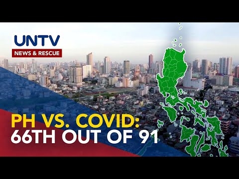 [UNTV]  PH ranks 66th out of 91 countries in suppressing COVID-19 spread – The Lancet