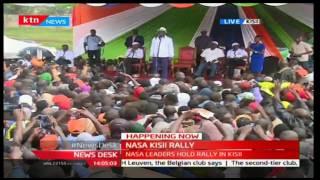 NASA's Raila Odinga's full speech at Kisii Stadium