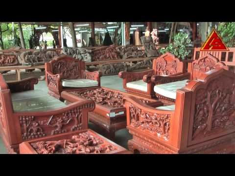 Furniture with Carving