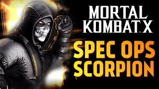 Mortal Kombat X - ОБЗОР СКОРПИОНА СПЕЦНАЗ (iOS)