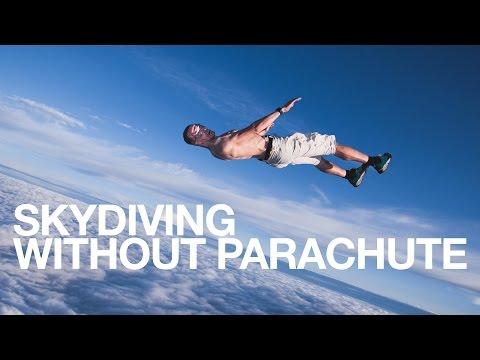 +➊➑  ✃ ✄ ✃ НЕВИЖДАНО: Много луд човек скача без парашут от балон и оцелява!