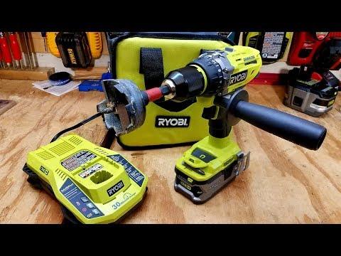 Ryobi One+ 18V Cordless Brushless Hammer Drill Review