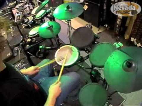 Roland TD4 Drum Kit Demo