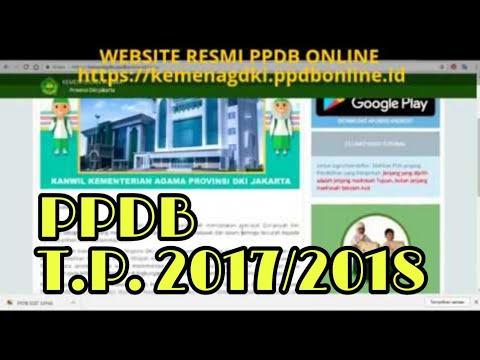 Video video tutorial langkah-langkah PPDB online MTs Negeri DKI Jakarta