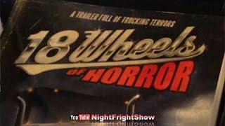 """""""18 Wheels of Horror"""" trucking horror stories Eric Miller Del Howison Hal Bodner Night Fright Show"""