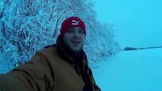 Зимняя рыбалку на северной двине