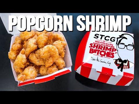 POPCORN SHRIMP (BETTER THAN POPCORN CHICKEN?)