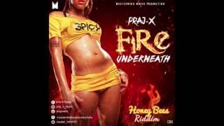 PRAJ-X || FIRE UNDERNEATH || honey bees riddim ( august 2017)