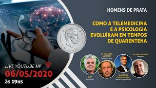 LIVE 02 – A TELEMEDICINA E A PSICOLOGIA EVOLUÍRAM EM TEMPOS DE QUARENTENA