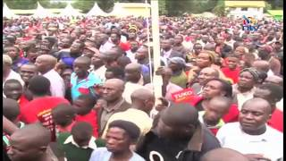 Uhuru issues title deeds in Trans Nzoia - VIDEO