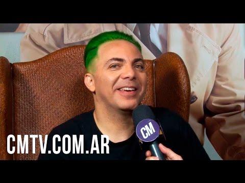 Cristian Castro video Dicen - Argentina  - Entrevista CM | Septiembre 2016