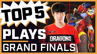 MONSTROUS Diem Gets 4 Headshots in FIRST Teamfight 🤯 | Top 5 Plays — Grand Finals
