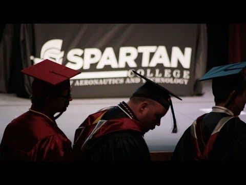 2018 Spring Graduation | Tulsa Campus | Spartan College