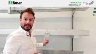 Tutorial sobre soportes plásticos de PVC para Bandejas portacables Basorplast
