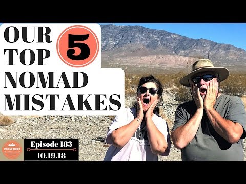 Our 5 Biggest Travel Mistakes as Snowbird Travelers - S1.E183