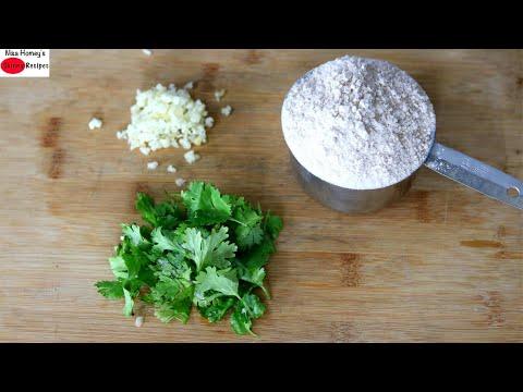 Do You Have A Cup Of Wheat Flour, Garlic & Coriander Leaves? Garlic Paratha Recipe – Ramadan Recipes