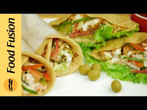 Chicken Shawarma Recipe By Food Fusion