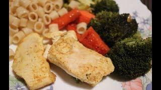 �дея быстрого ужина/Супер вкусный и простой ужин из курицы и овощей