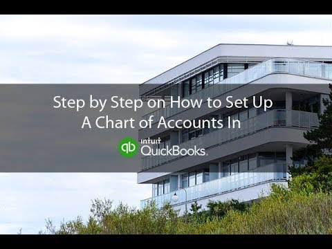 Download How To Set Up A Chart Of Accounts For A Real Estate