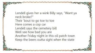 Chris Knight - Oil Patch Town Lyrics