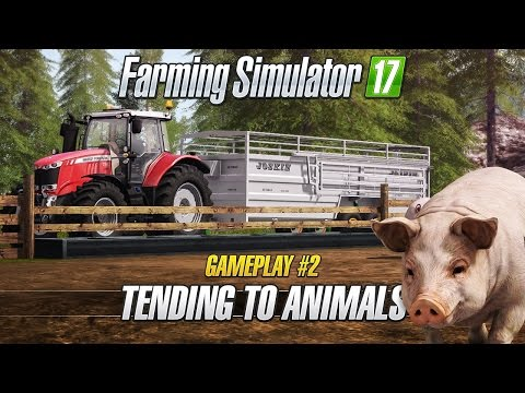 Farming Simulator 17 GIANTS Key GLOBAL - video trailer