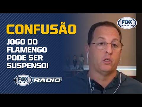 CONFUSÃO NO EQUADOR: JOGO DO FLAMENGO PODE SER SUSPENSO!