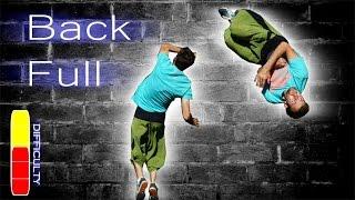 How to BACK FULL/ BACK FLIP 360 - Free Running Tutorial