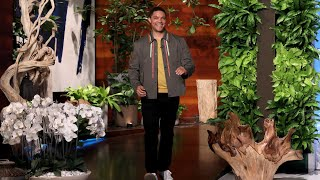 """""""The Daily Show"""" host Trevor Noah opened up to Ellen about whether he thinks Donald Trump being president is a good thing for comedy, admitting he could actually be making comedians work a little harder to write jokes about him. Plus, the comedian shared his smart tips for traveling, and how he manages to make tough political news funny.  #TrevorNoah #TheDailyShow #Trump"""