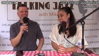EPISODE 111 - TALKING JAZZ at the Chicago Jazz Festival with Sarah Marie Young