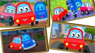 A Tisket A Tasket | Songs For Babies | Little Red Car Videos