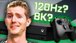 8K Xbox? I'm skeptical.