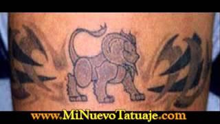 Tatuajes Tribales en el brazo y hombro