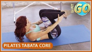 Pilates Powerhouse Tabata Core Workout: 10 Min- BeFiT GO by BeFiT