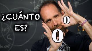 ¿CUÁNTO ES CERO ELEVADO A CERO?   El vídeo que tu profe de matemáticas ¡no quiere que veas!