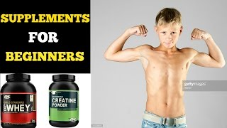 Supplements For Beginners | Complete Supplement Guide For Beginners