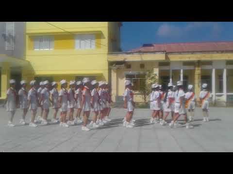 Video thi nghi thức đội trường THCS Long An