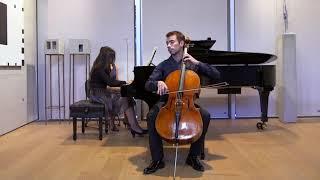 Concert Duo violoncelle piano 24.09.2016