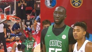 Tacko Fall DESTROYS Rim With Dunks In 2019 NBA Summer League! Celtics vs Grizzlies