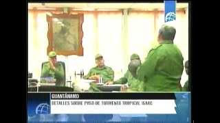 preview picture of video 'Detalles del paso de la tormenta Isaac por Guantánamo'