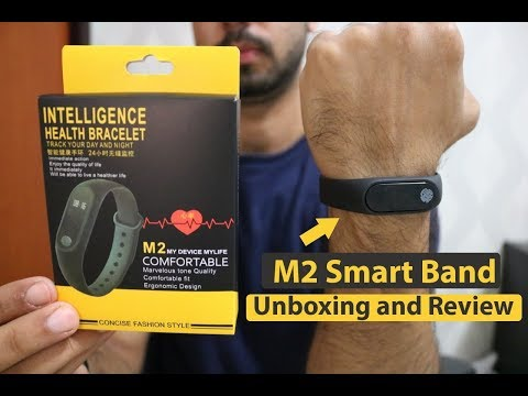M2 Smart Band/Cheapest Fitness Band Unboxing & Review