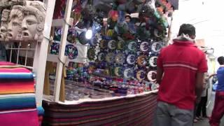 クエルナバカの民芸品店