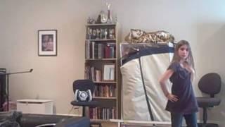 Paris Elliott Dancing to Uh Oh by The Cheetah Girls