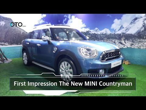 First Impression The New MINI Countryman I OTO.com
