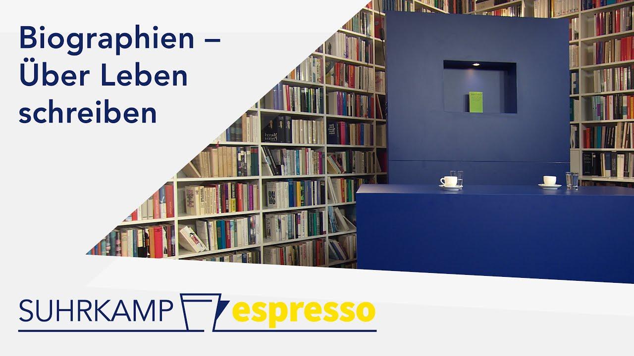 Biographien – <i>Suhrkamp espresso</i> #29