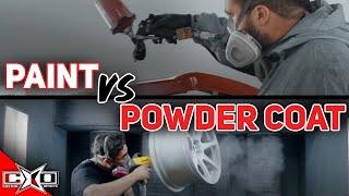Paint VS Powdercoat!
