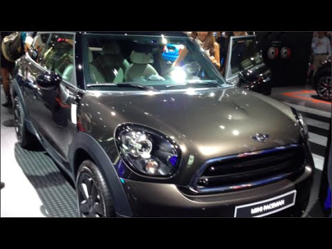 Mini Paceman 2015 In detail review walkaround Interior Exterior
