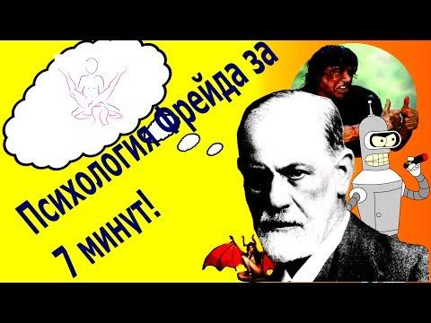 Психология Фрейда за 7 минут (Freud's phychology in seven minutes)