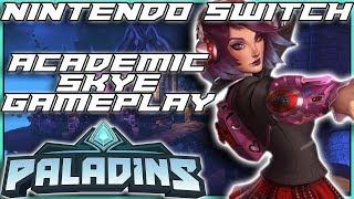 PALADINS NINTENDO SWITCH GAMEPLAY SKYE CHARACTER SHOWCASE Part 3 - DarkLightBros