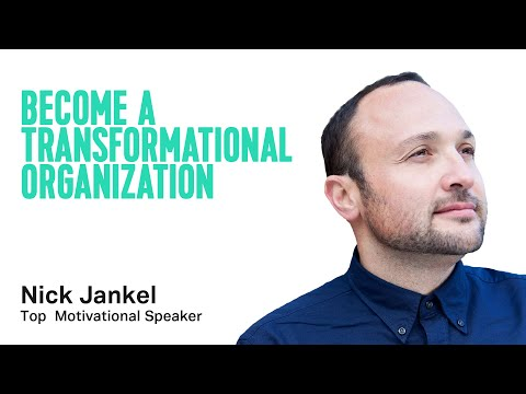 Become A Transformational Organization: Design For Agility Without Losing Stability   Keynote Topic: Wellbeing At Work: Beat Stress and Build Strength In Teams